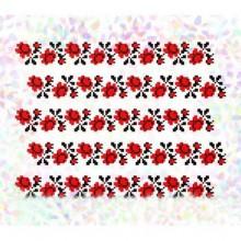 """К - 285 """"Троянди"""" Водорозчинний флізелін для вишивки"""