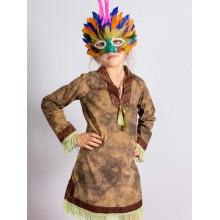 Карнавальний костюм Індіанця для дівчинки