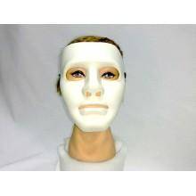 """Карнавальна маска """"Безликий"""" біла"""