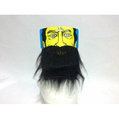 Борода чорна коротка