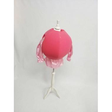 Куля рожева поролонова-аксесуар до карнавальних костюмів