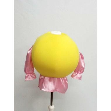 Куля жовта поролонова-аксесуар до карнавальних костюмів