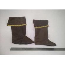 """""""Кіт у чоботях"""" Карнавальне взуття ( колір коричневий)"""
