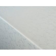 Столова  тканина Журавинка (рис.1) вензель білий
