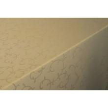 Столова тканина Журавинка (рис.3) вензель бежевий