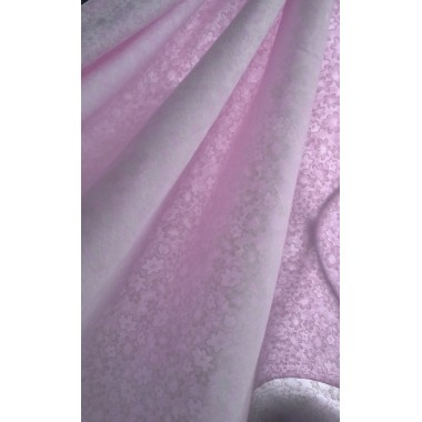 Батист ніжний рожевий