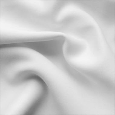 Трикотаж Дайвінг однотонний білий