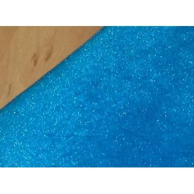 Велюр блакитний (тонкий)