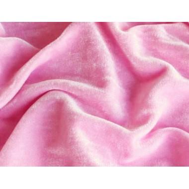 Велюр рожевий (тонкий)