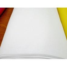 Тканина вафельна біла