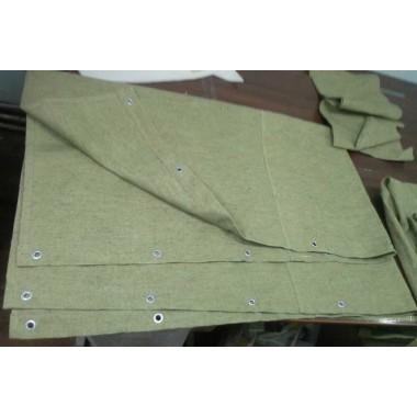 Брезентова штора з кільцями 4,25м * 3,0м