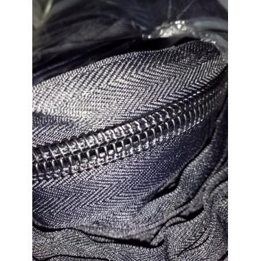 Блискавка спіральна рулонна, тип 10, чорна