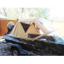 Ходовий тент на човен Казанка з тканини Sunbrella® Plus