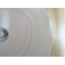 Тасьма окантовочна біла 3 см для тентових виробів