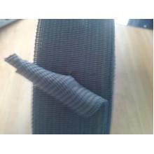 Окантовочна тасьма 3 см сіра для тентових виробів