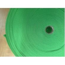 Тасьма окантовочна для тентових виробів 3 см зелена