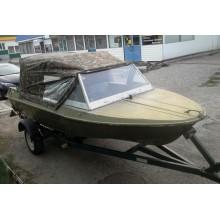 Тент ходовий на човен Крим