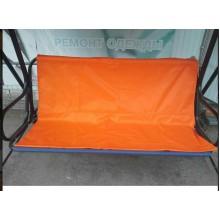 113*48*50-Тент навантажувальний на садові гойдалки -помаранчевий