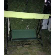 113*45*50-Тент навантажувальний на садові гойдалки -зелений