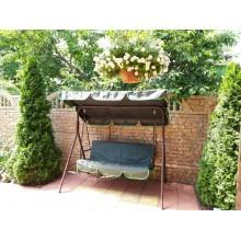 170*110/130*48*48 - Комплект чохлів на садові гойдалки-зелений