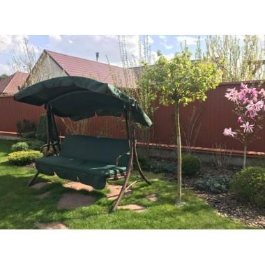 210*146- Тент на дах садової гойдалки