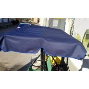 Тент на дах садової гойдалки 170 * 110 -синій