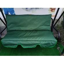 130 * 50 * 50-М'які знімні матраци на садові меблі, темно-зелені