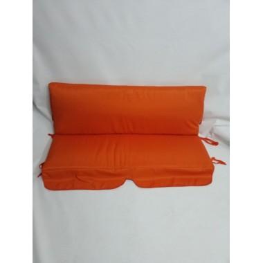 131*50*50-М'які знімні матраци на садові меблі, помаранчевий
