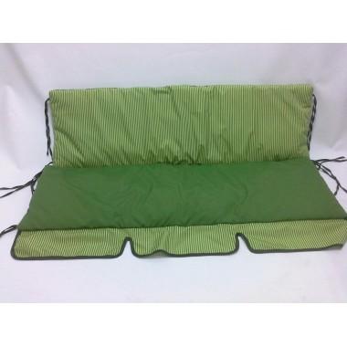 150*50*59-Комплект м'яких матраців на садові гойдалки