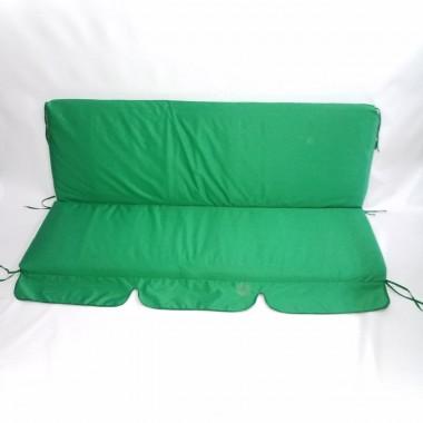 150*50*53-Матраци м'які на садові гойдалки (зелений)