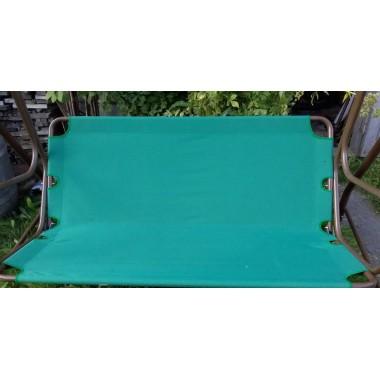 135*50*54--Тент навантажувальний на садові гойдалки -зелений