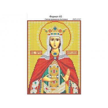 И-057 Свята праведна Ангеліна 16 х 22