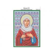 Набір з бісером Іменна ікона І-072 Свята Іванна Мироносиця (Жанна, Яна)
