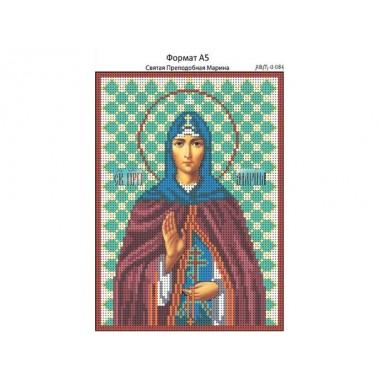 И-084 Свята Преподобна Марина 16 х 22