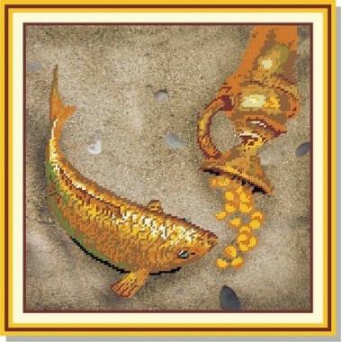 """""""Золотий короп » . 28 х 28 см"""