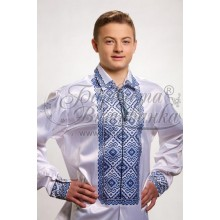 СЧ002к the Workpiece for a beaded embroidery men's shirt