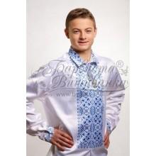 СЧ007к Заготівля для вишивки бісером чоловічої сорочки - вишиванки