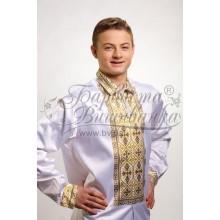 СЧд019к Заготівля для вишивки бісером чоловічої сорочки