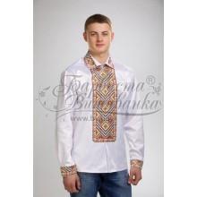СЧ020к Заготівля для вишивки бісером чоловічої сорочки - вишиванки