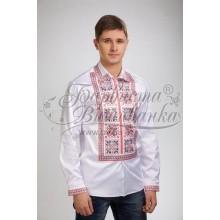 СЧ026к Заготівля для вишивки бісером чоловічої сорочки - вишиванки