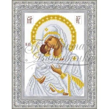 TO039 ан1622 Володимирська ікона Божої Матері 16 см x 22 см