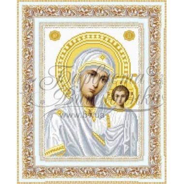 TO049 ан2332 Казанська Ікона Божої Матері 23 см x 32 см