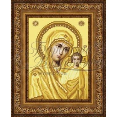 TO063 ан1622 Казанська Ікона Божої Матері 16 см x 22 см