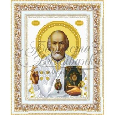 TO070 ан1622 Святий Миколай Чудотворець 16 см x 22 см