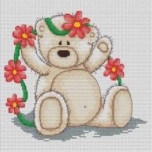 """Набір для вишивання """"Ведмедик Б'янка"""" B1014"""