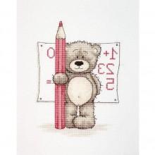 """Набір для вишивання """"Ведмедик Бруно математика"""" B1017"""