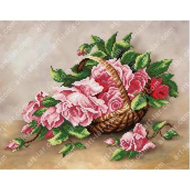 """БІС-8518 """"Троянди в кошику"""""""