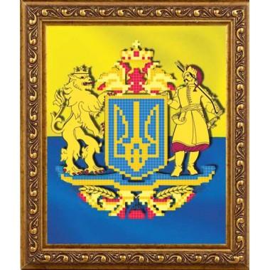 АР 4006 Герб України з козаком