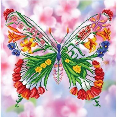 БІС-7814 Квітковий метелик