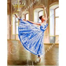 Картина з бісером W-394 Балерина
